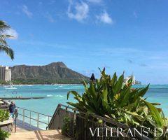 ハワイはこれからホリデーシーズン♪今日はベテランズデー!